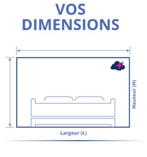 dimension lit charming dimension lit deux places