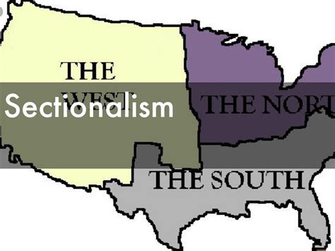 sectionalism civil war u s civil war by meaghan busby