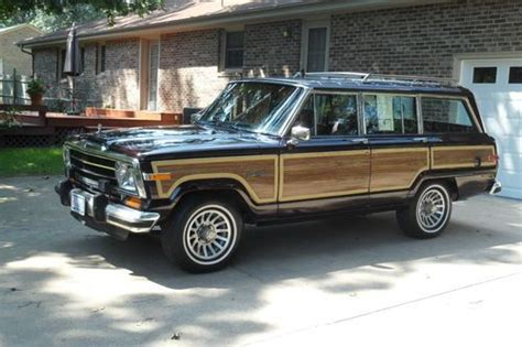 1991 Jeep Grand Wagoneer Find Used 1991 Jeep Grand Wagoneer Edition No