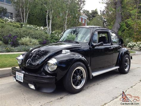 volkswagen beetle modified black 1974 volkswagen super beetle custom quot skull bug quot