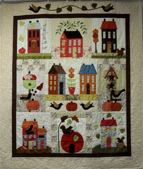 free pattern house quilt free applique quilt patterns houses appliq patterns