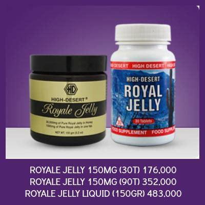 Bee Pollen Terbaik Import Usa 90 Tab hdi royal jelly madu high desert