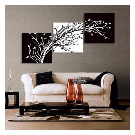 ebay home decor hd canvas prints abstract black and white tree wall art