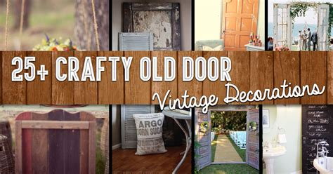 House And Home Christmas Decorating Ideas by 25 Crafty Old Door Vintage Decorations To Boost The Charm