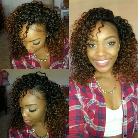 dejavu human hair blend weave short cut soft coil 3 pcs how to blend natural hair with curly weave no heat video
