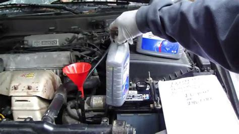 Toyota Transmission Fluid Change How To Replace Automatic Transmission Toyota Camry