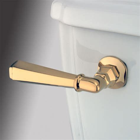 bathroom toilet handles polished brass decorative hex tank lever modern toilet