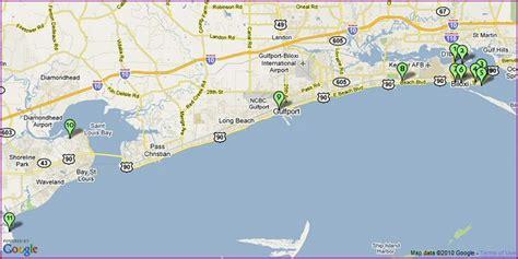 map of gulf coast gulf shores alabama map