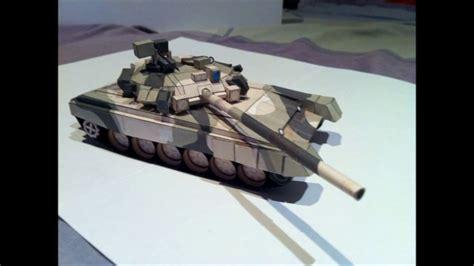 como hacer una maqueta 5 youtube como hacer una maqueta de papel tanque t 90 battlefield 3