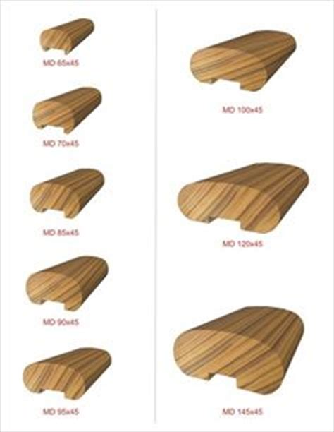 Stair Rail Profiles Wooden Handrails For Stairs Size Image Handrail