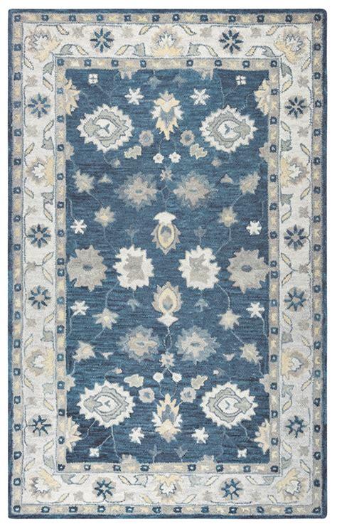 leons area rugs leons area rugs aldridge 8 x 11 area rug blue and brown