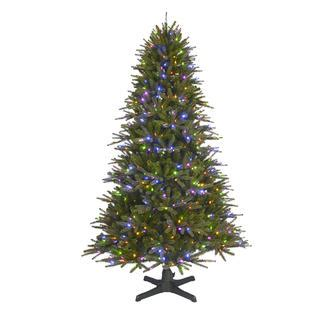 color switch plus christmas trees 6 5 pre lit regal fir tree sears