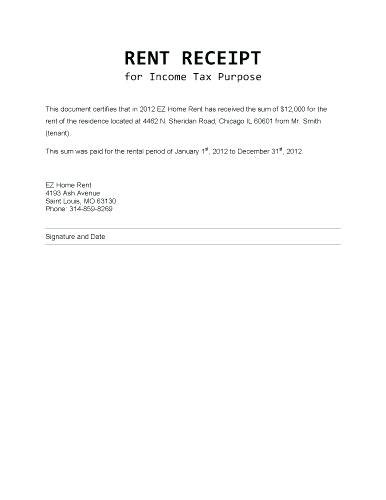 rent receipt template excel mac rental receipt templates kinoroom club