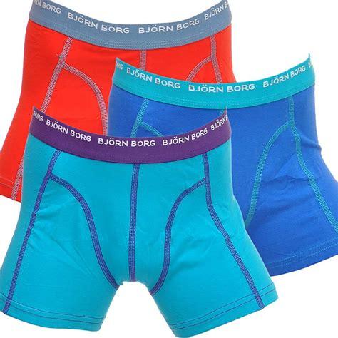 boxers for bjorn borg 3 to go boys boxers blue turquoise bjorn