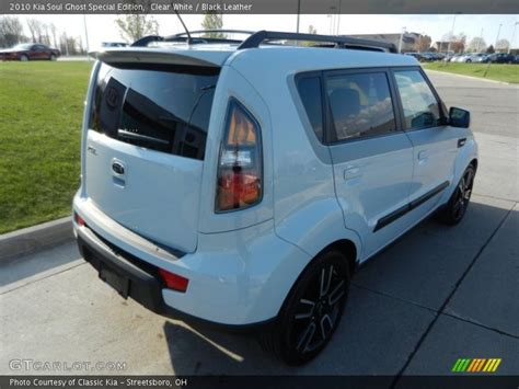 Kia Soul Ghost 2010 Kia Soul Ghost Special Edition In Clear White Photo