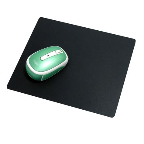smooth mouse pad black jakartanotebook