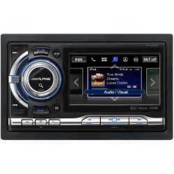 new stereo in car alpine ixa w404r din digital media receiver ixa