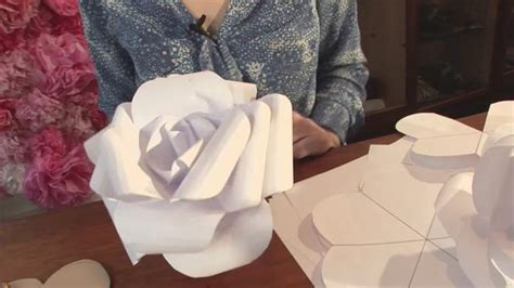 How To Make Large Paper Flowers For Wedding - the canopy artsy weddings weddings