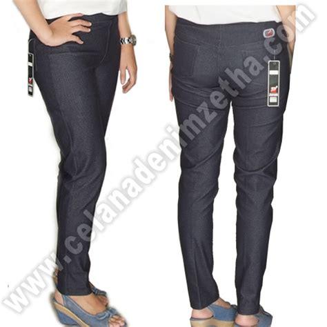 Celana Navy celana zetha denim pensil warna navy celana denim zetha