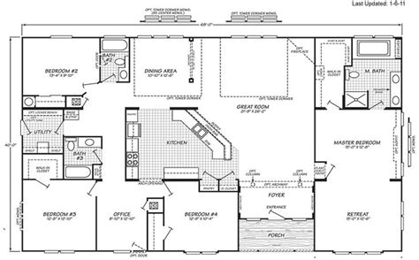 mobile modular home floor plans clayton triple wide mobile 1000 images about manufactured homes on pinterest steel