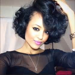 bob haircuts black hair and wavy 20 delightful wavy curly bob hairstyles for 2016 styles