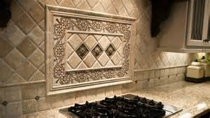 Kitchen Medallion Backsplash Backsplashes N Mountain