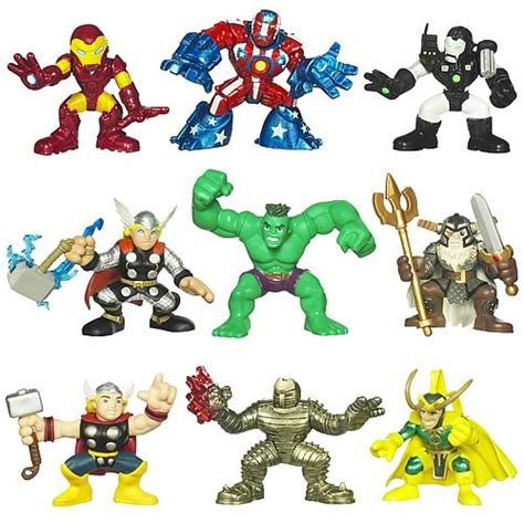 film marvel super hero squad marvel superhero squad movie figures wave 1 hasbro