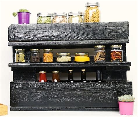 diy tiered spice rack spice rack 32 creative diy ideas tutorials