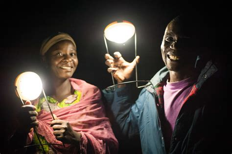 For Two Kenyan Farmers Solar Ls Benefit Every Part Of Solar Lights For Africa