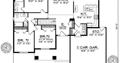 house plans with all bedrooms together house floor plan for 81098 ranch house plans 1537 sq ft