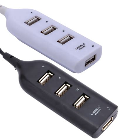 mini 4 port usb 2 0 hub usb port rawtronics