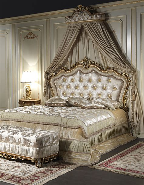 baroque bed classic double bed baroque