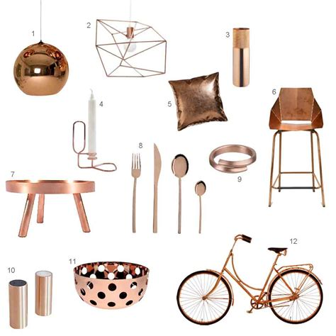 modern home decor accessories roundup 12 modern copper accessories design milk