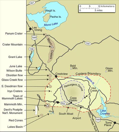 map of california volcanoes california volcano observatory