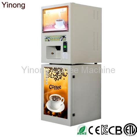 Instant Coffee Vending 4 flavors and cold drinks instant coffee vending machine gts104 yinong china