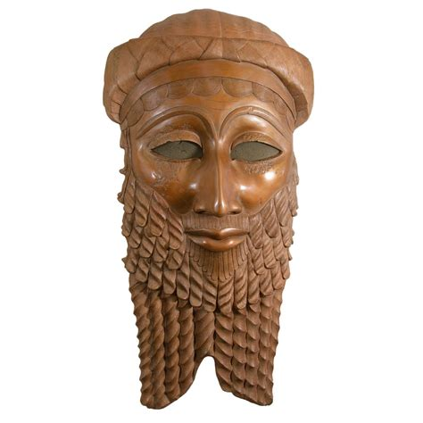 Home Decor Tip by A Bronze Sculpture Of The Head Of Iraqi King Sargon Of