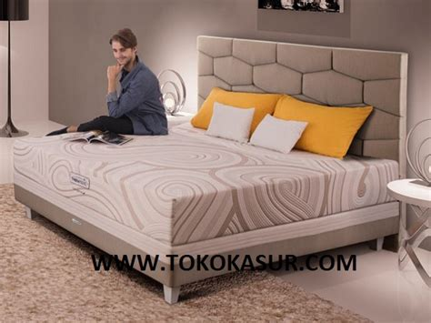Ranjang Besi 160x200 therapedic backsense x toko kasur bed murah simpati furniture