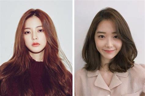 model rambut stylish korea  wajah bulat womantalk