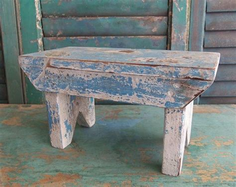 bench over the tops white over blue stool cricket stools pinterest