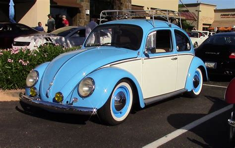 volkswagen beetle blue classic type 1 volkswagen beetle baby blue and white two