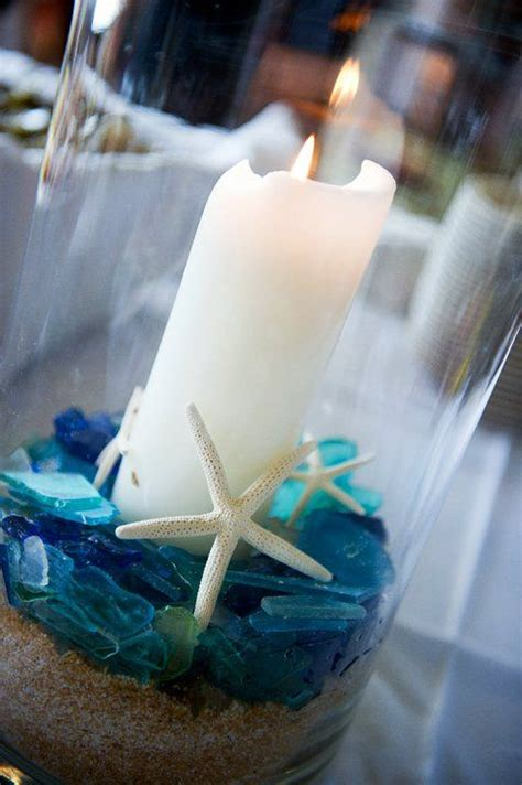 wedding centerpieces with candles and sand 601 best images about the sea wedding decor on starfish jellyfish and seashells