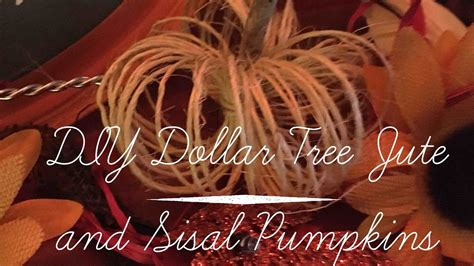 29 model dollar tree office organization yvotube com diy dollar tree jute and sisal pumpkins diy tube