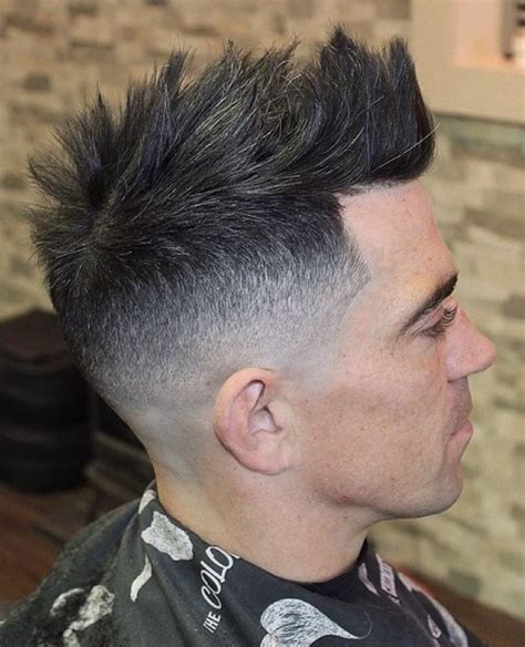 Faux Cut Hairstyle by The 40 Faux Hawk Haircuts For