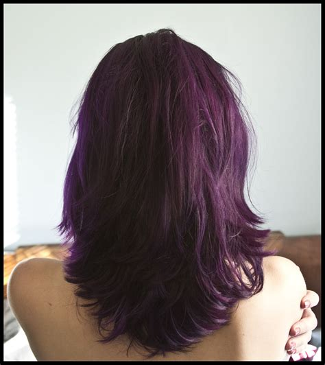 orchid hair color indoor lighting pravana vivids violet orchid hair