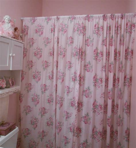 shabby chic bathroom curtains s home 12 28 12