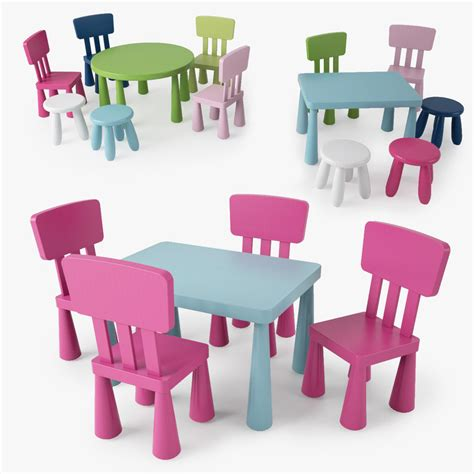 Table And Chairs Mammut by 3ds Max Mammut Series Children S