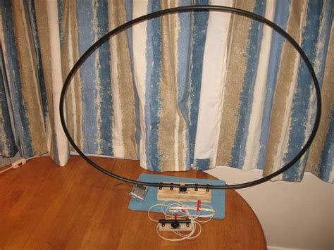 medium wave am broadcast band resonant loop antenna 31 steps