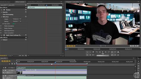 adobe premiere pro uses using ultra key in adobe premiere pro youtube