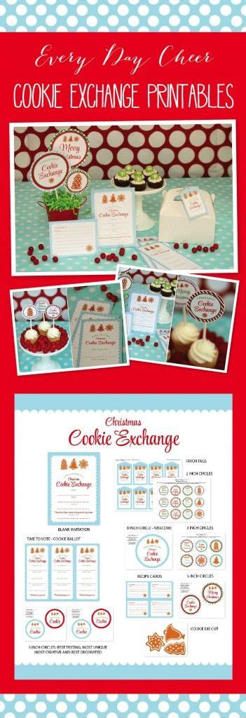 themes for christmas exchange 208 best images about cookie exchange ideas on pinterest