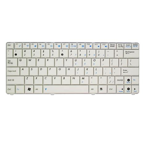 Promo Keyboard Laptop Asus Keyboard Asus N10 Us White Murah jual keyboard asus n10 us white toko firdaus
